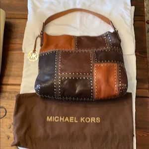 Michael Kors patchwork bag